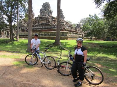 BIKING TO ANGKOR & JUNGLE ZIP LIN ADVENTURE