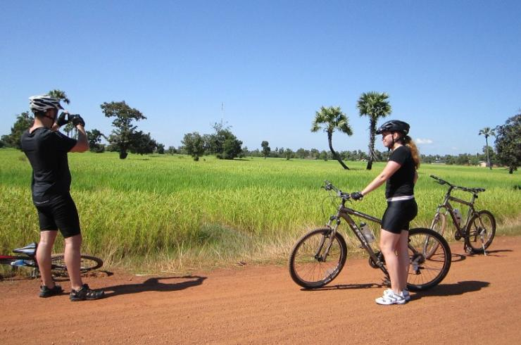 CAMBODIA COASTLINE BIKING